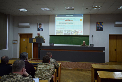 The ADL implementation issues сlass at the Zhytomyr Military Institute named after S.P. Korolyov